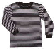 Striped свитер для детей изолированных на белизне Стоковая Фотография RF