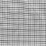 Striped скомкал скатерть. Стоковое Изображение RF