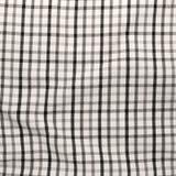Striped скомкал скатерть. Стоковое Фото
