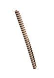 Striped сладостные tubules с ванильной сливк Стоковое Изображение RF