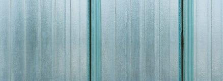 Striped текстура стеклянной стены Стоковое Изображение RF