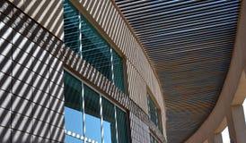 striped тени здания Стоковое Фото