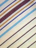 striped ткань Стоковое фото RF