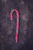 Striped тросточки конфеты рождества Стоковые Фотографии RF
