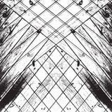 Striped хаос деревянный Стоковое фото RF