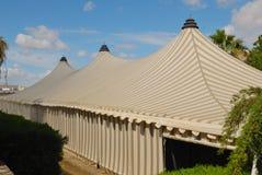 striped шатер Стоковые Изображения