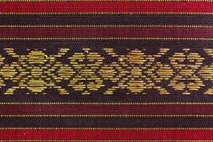 Striped шелк дизайна Стоковые Фотографии RF
