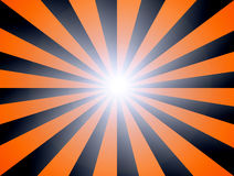 Striped. Orange and black striped background. abstract illustration Royalty Free Stock Images
