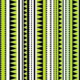 Безшовная племенная текстура. Племенная картина. Красочное striped этническое Стоковые Изображения