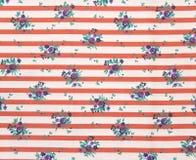 таблица striped тканью Стоковое Фото