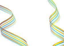 Striped abstract background. Stock Photography
