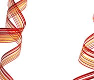 Striped abstract background. Royalty Free Stock Photos