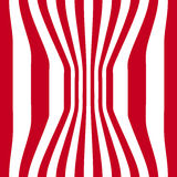 Striped abstract background. red and white zebra print. Vector illustration. eps10 Royalty Free Stock Photo
