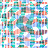 Striped abstract background in retro colors Royalty Free Stock Photography