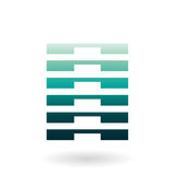 Striped Abstract Icon Royalty Free Stock Images