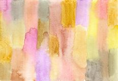 Striped watercolor Stock Images