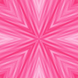 Striped Angular Background of Pastel Pink Colors. Texture of Symmetric Intersecting Lines from Center Royalty Free Stock Image
