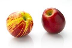 Striped apple Stock Photos