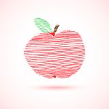 Striped apple Stock Photos