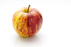 Striped apple Royalty Free Stock Photo