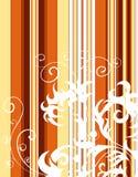 Striped background stock illustration