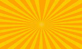 Striped background. Abstract retro striped background - sun light Royalty Free Stock Image