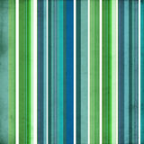 Striped Background in Blue and Green Stock Photo