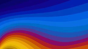 Striped background with color wavy lines. Vector pattern stock images
