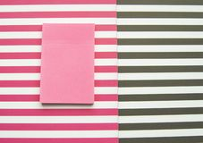 Striped background, red and white and black and white stripes. Sticker for posts.  stock photos
