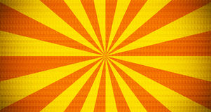 Striped background. Yellow and orange retro striped pattern background Royalty Free Stock Image