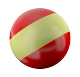 Striped ball Royalty Free Stock Images