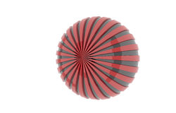 Striped ball Royalty Free Stock Photography