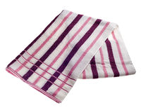 Striped beach towel Stock Photography