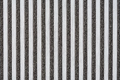 Striped black and white fabric texture Royalty Free Stock Images