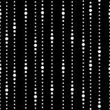 Striped black and white seamless pattern Royalty Free Stock Image