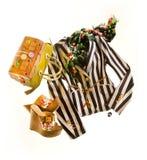 Striped blazer fashion composition Stock Photo