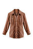Striped blouse  Royalty Free Stock Images
