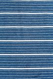 Striped background of cotton cloth Royalty Free Stock Image