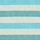 Striped blue fabric texture Stock Image