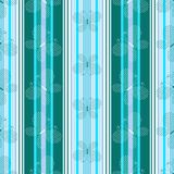 Striped  blue pattern Stock Image