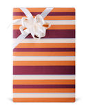 Striped box Royalty Free Stock Photo