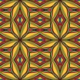 Striped Bright Arabic Seamless Pattern Stock Photo