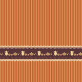Striped brown background Stock Images
