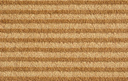Striped Brown Carpet Royalty Free Stock Photo