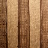 Striped brown cloth Stock Photo