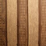 Striped brown cloth Stock Photo