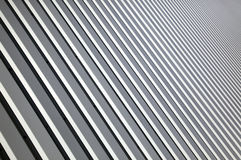 Striped building facade Stock Images