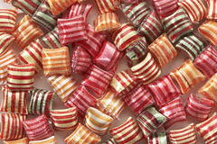 Striped candy Royalty Free Stock Images