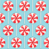 Striped candy Royalty Free Stock Image
