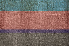 Striped canvas Stock Images